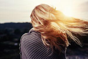 WomanBackHair Sun
