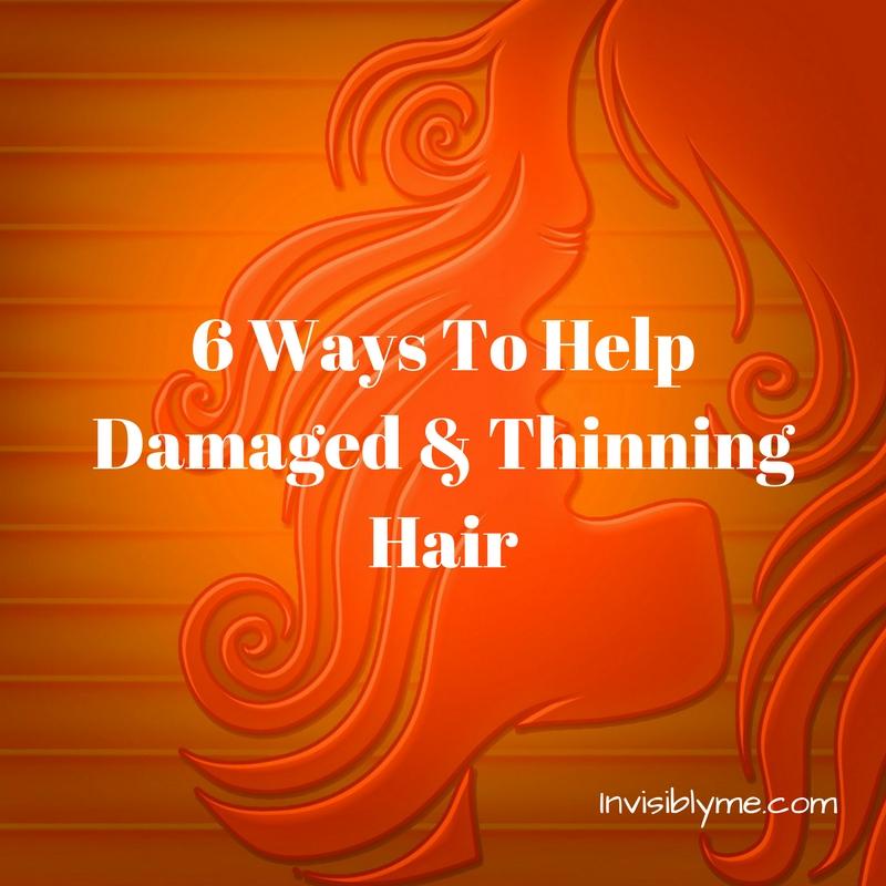6 Ways To Help Damaged & Thinning Hair