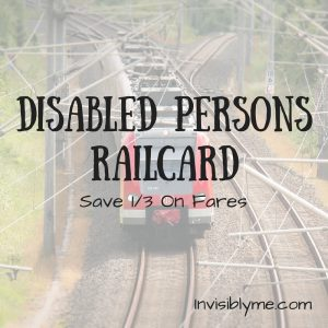 Disabled Persons Railcard