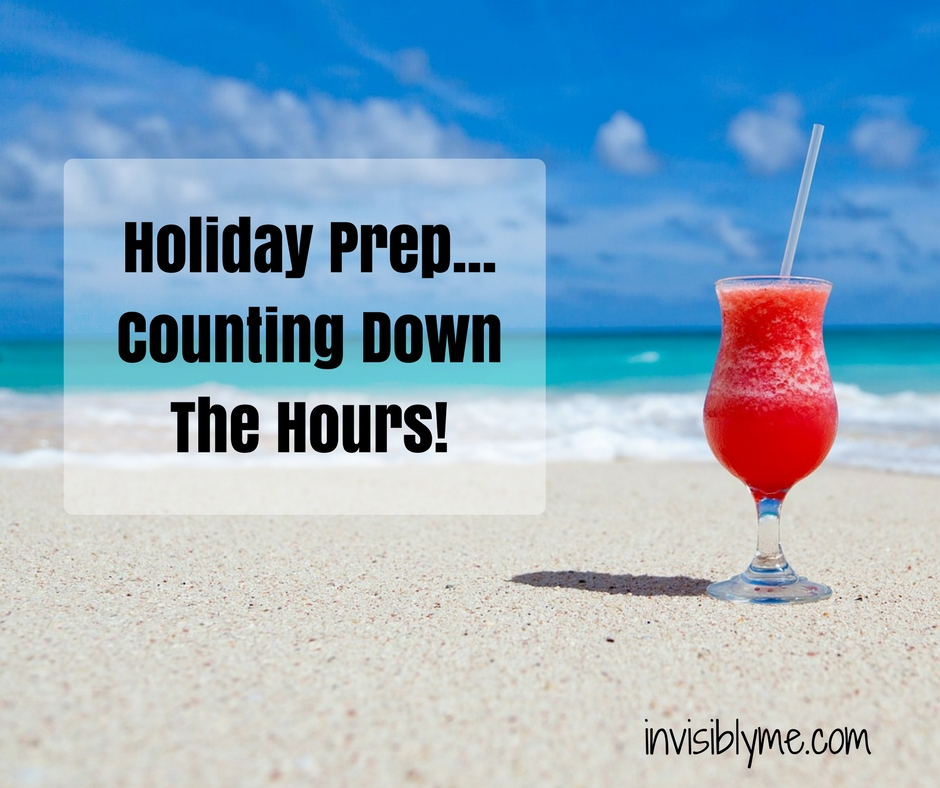 The (Never ending) Holiday Prep… Counting Down The Hours!