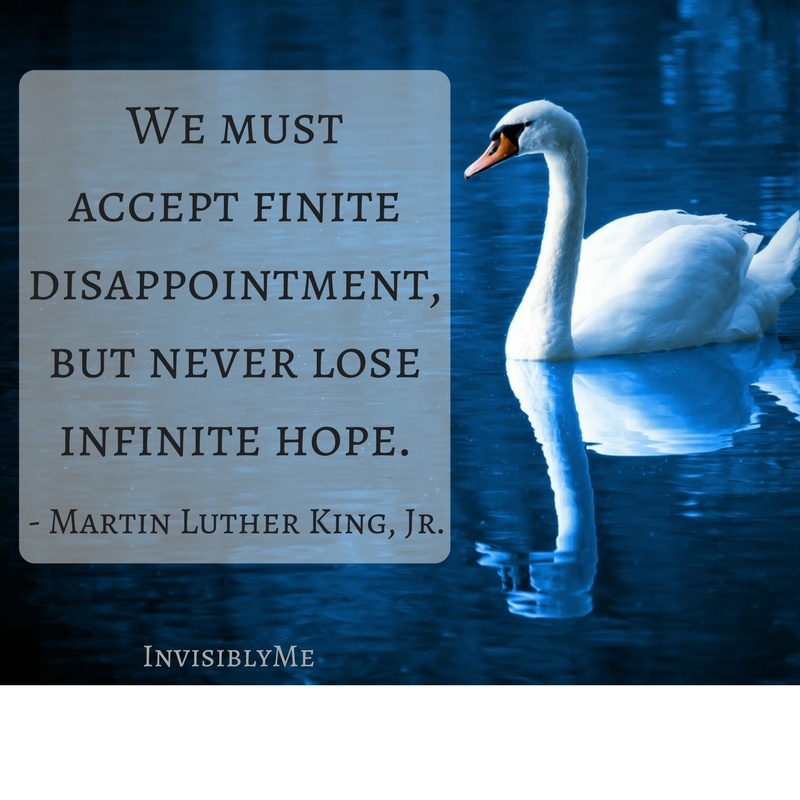 There Will Be Disappointment…