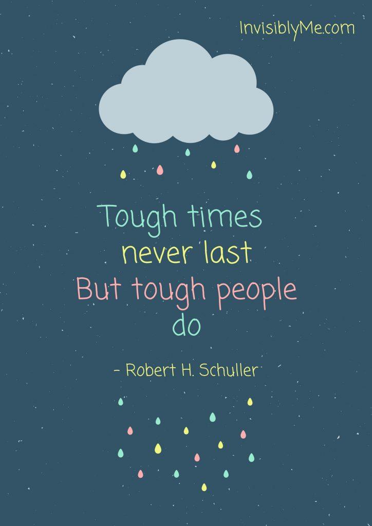 When Life Gets Tough, Get Tougher