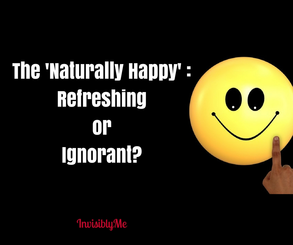The Naturally Happy : Refreshing or Ignorant?