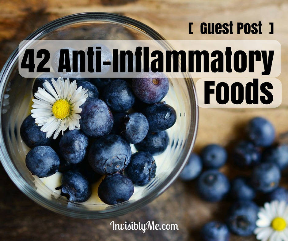 [  Guest Post  ]  42 Anti-Inflammatory Foods
