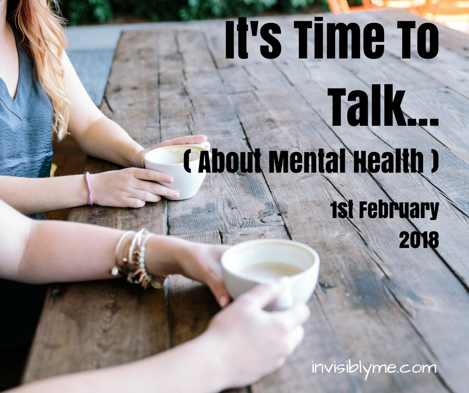 It's Time To Talk! (About Mental Health)