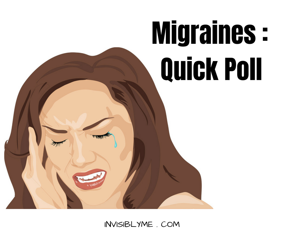 Headaches, Migraines & Clusters : Quick Poll